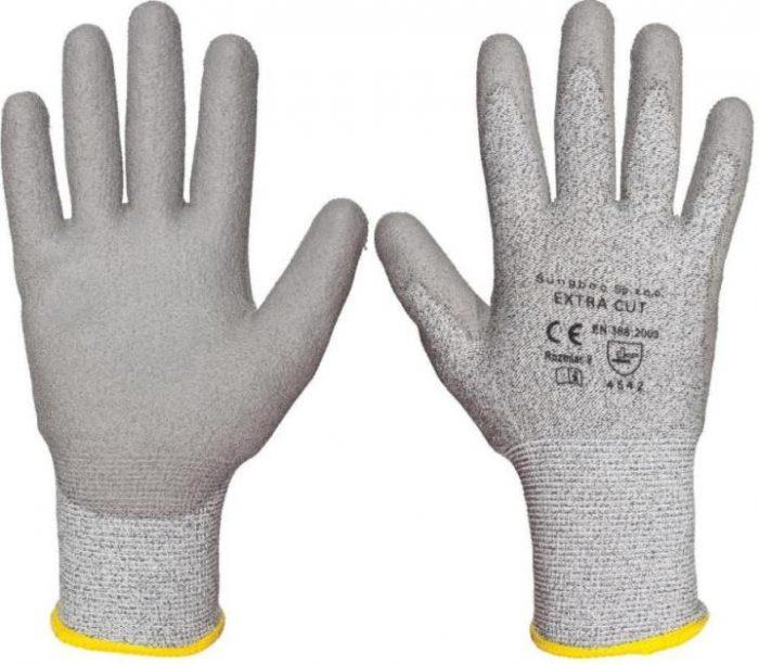 ZESTAW: Extra cut - rękawice antyprzecięciowe