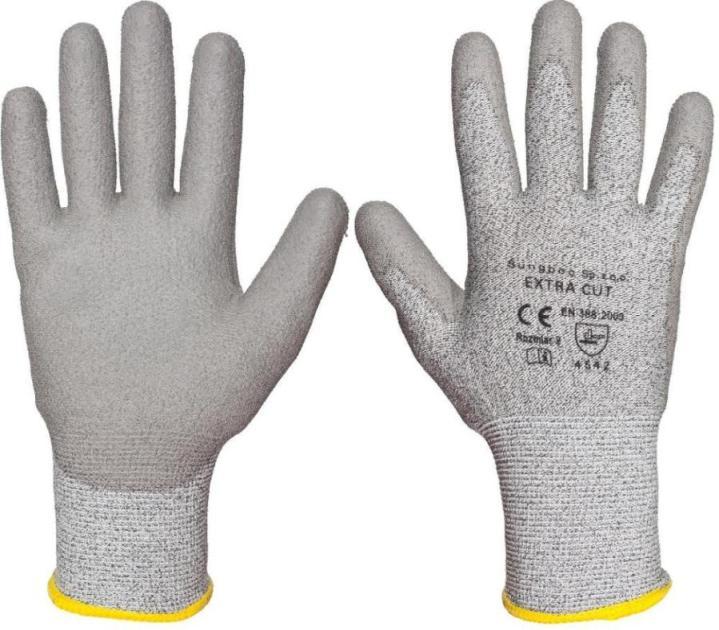 ZESTAW: Extra cut – rękawice antyprzecięciowe