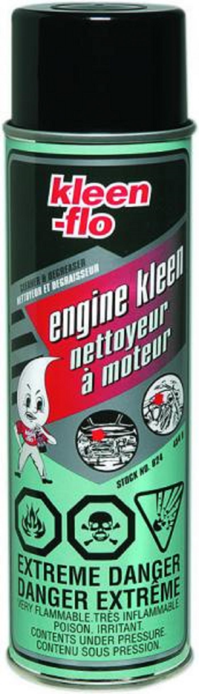 Szampon do mycia i odtłuszczania silników KleenFlo nr.kat.824